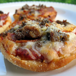 English Muffin Pizza