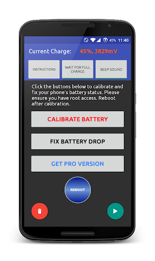 Battery Fix and Calibrate