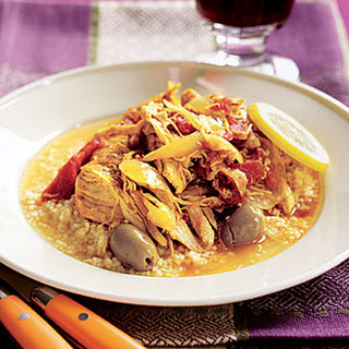 Chicken Stew with Green Olives