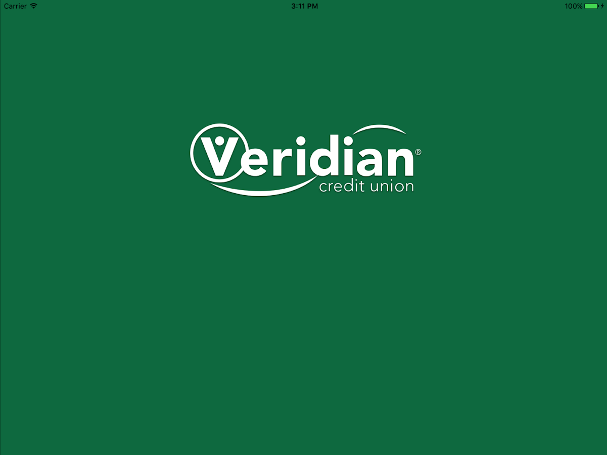 Veridian Credit Union Mobile Banking- screenshot