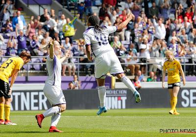 Feest in het Lotto Park: vrouwen Anderlecht winnen van Noorse sterrenploeg en mogen naar zestiende finales Champions League
