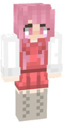 Original is not mine. I just gave her pink hair.