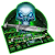 Green Hell Skull Devil Knife Keyboard Theme file APK for Gaming PC/PS3/PS4 Smart TV