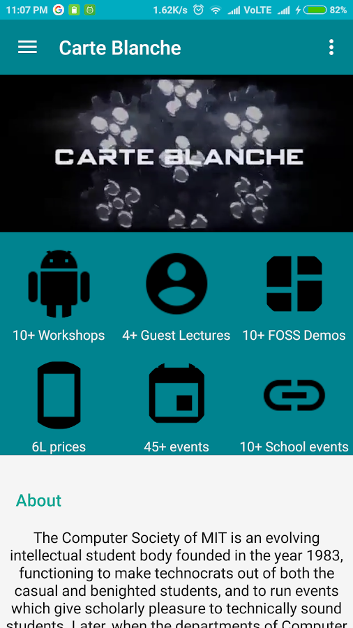 Carte Blanche'17- screenshot