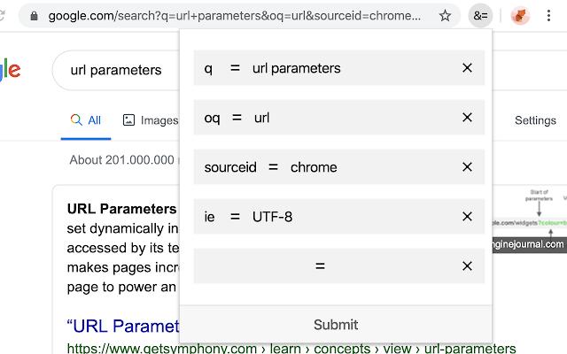 URL Params Editor