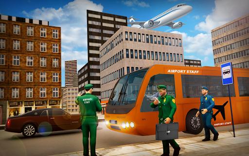 Airport Security Staff Police Bus Driver Simulator 1.0 screenshots 1