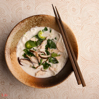 Chicken & Noodles in Coconut Lime Broth