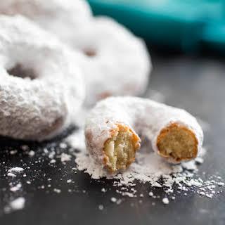 DIY Donettes (Mini Sugar-Coated Doughnuts).