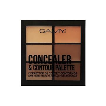 Paleta de Correctores   Samy Medium Dark x6gr