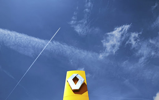 A Renault logo is seen outside a dealership in Nice, France. Picture: REUTERS
