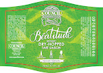 Council Beatitude Mosaic Dry-Hopped Tart Saison