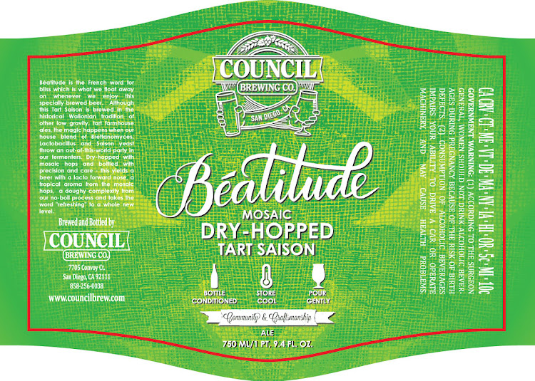 Logo of Council Beatitude Mosaic Dry-Hopped Tart Saison