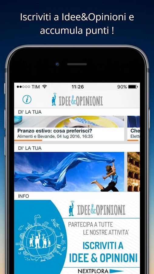 Idee & Opinioni- screenshot