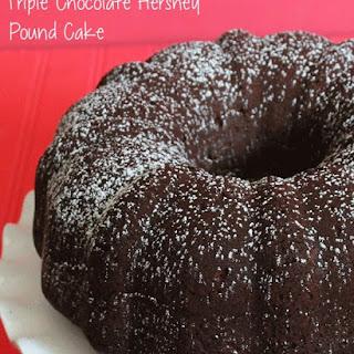 Triple Chocolate Hershey Cake.