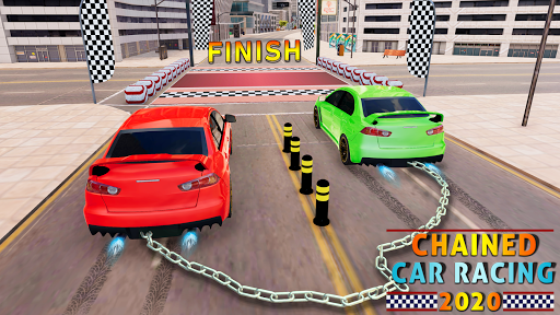 Chained Car Racing 2020: Chained Cars Stunts Games android2mod screenshots 9