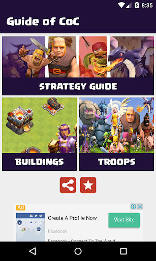 Guide for Clash of Clans CoC for PC