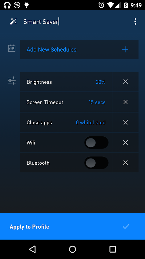 Battery Saver +- screenshot