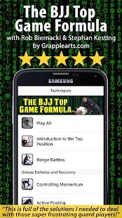 BJJ Top Game Formula - náhled