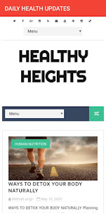 FITNESS FREAK : DAILY HEALTH UPDATES for PC-Windows 7,8,10 and Mac apk screenshot 2
