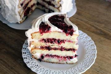 Berries And Cream Pinwheel Cake Recipe