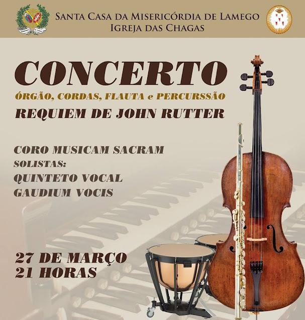 Igreja das Chagas acolhe Concerto de Páscoa na terça à noite