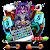 Supreme Skull Graffiti Skateboard Keyboard Theme file APK Free for PC, smart TV Download