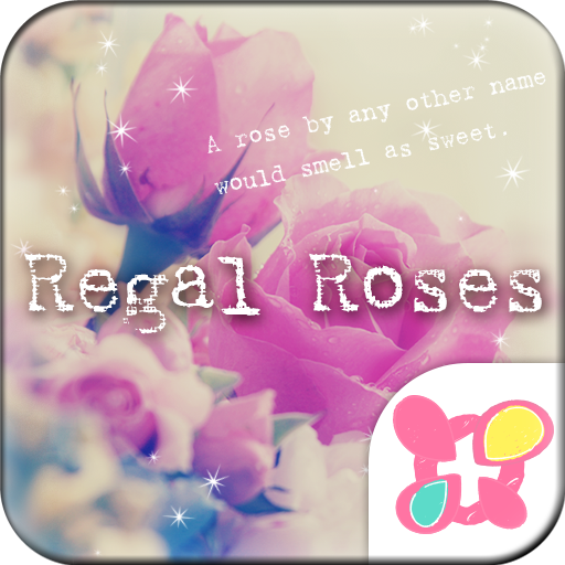 Flower Wallpaper Regal Roses Icon