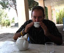 Photo: Day 161 -  Tea in Roadside Cafe