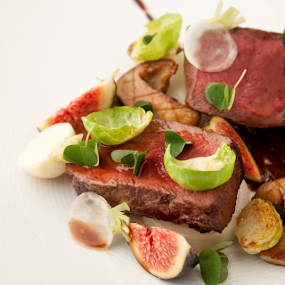 Venison, Chocolate, Fig, Turnip and Brussels Sprouts Recipe