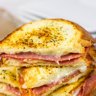 Italian Grilled Cheese Sandwiches.