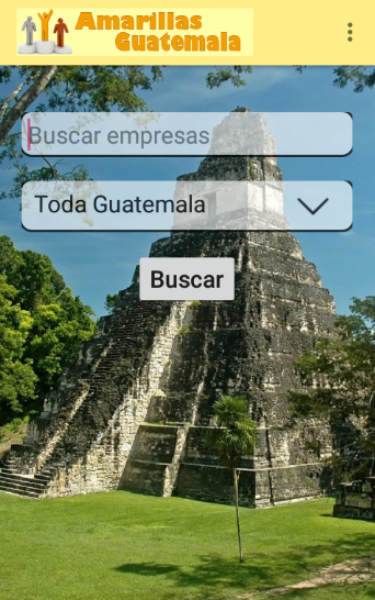 Amarillas Guatemala- screenshot
