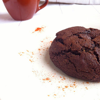 Dark Chocolate Cayenne Cookies
