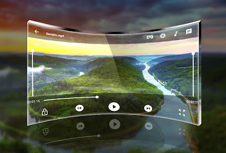 VR Player - Video Player - náhled