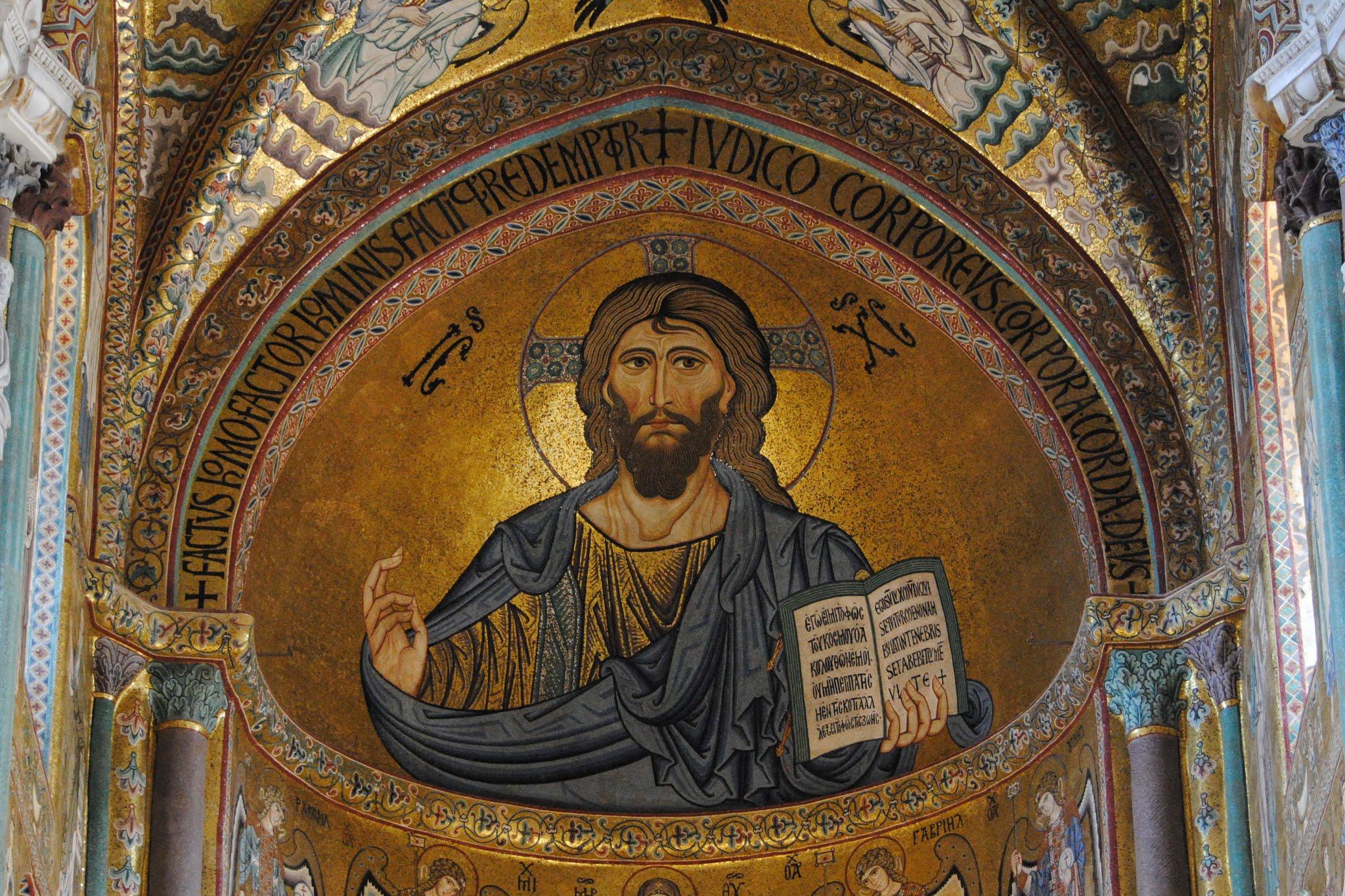 My Photos: Italy -- Mosaics -- Sicily -- Cefalù -- Duomo