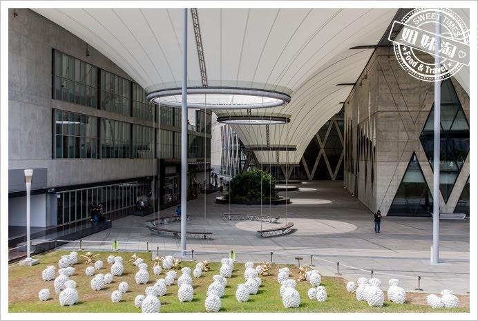 大東文化藝術中心山坡