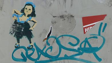 Photo: Stencil; Unknown Artist