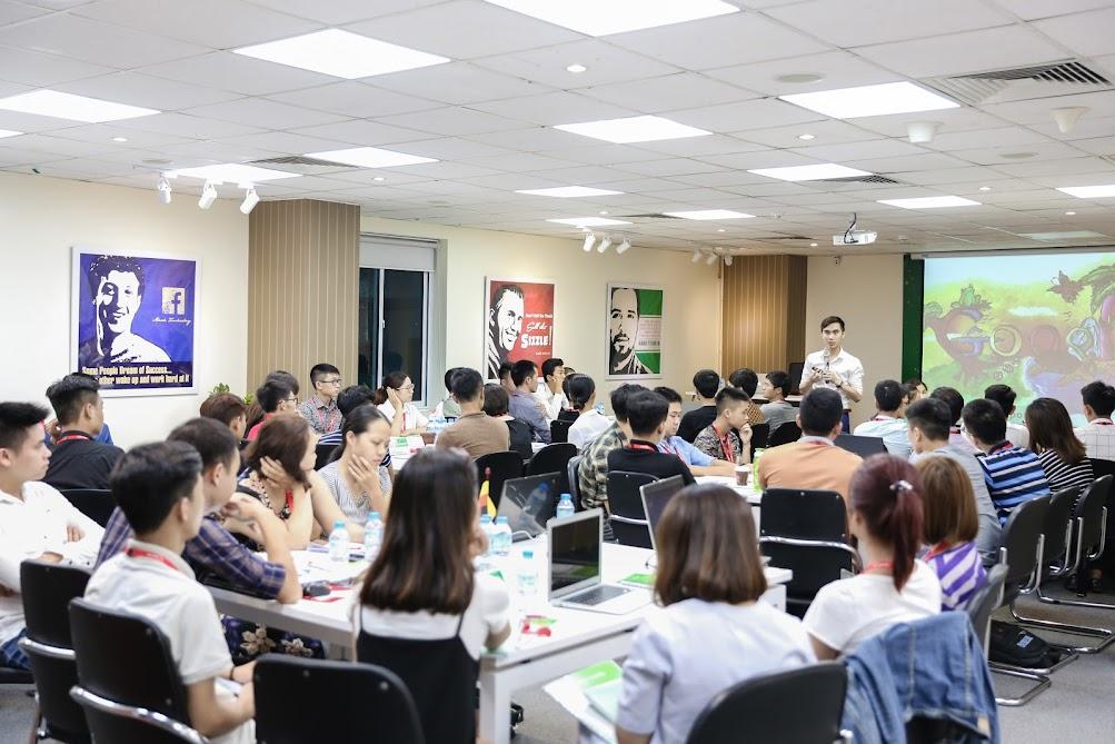 Hình ảnh khai giảng khoá học SEO K45