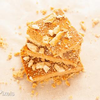 Peanut Butter Honey Pretzel Butterscotch Bars