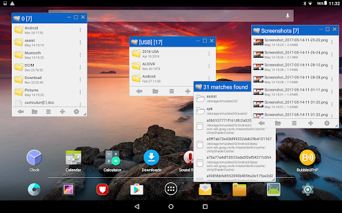 Floating File Manager Screenshot