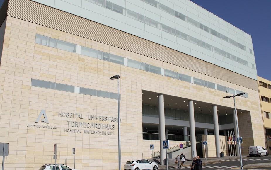 El Hospital Universitario Torrecárdenas durante la 2ª ola de la pandemia.