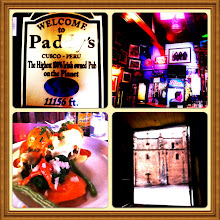 Photo: Paddy's - Highest Irish bar on earth!  11156 feet. Cuzco, Peru, July 2012.
