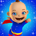 Baby Hero 3D - Super Babsy Kid icon