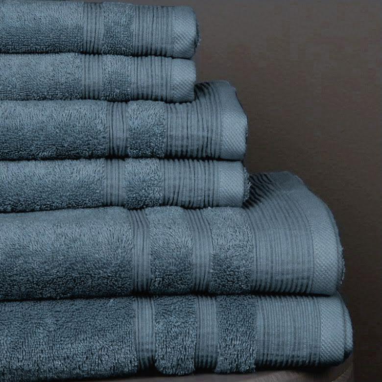 Ezra handduk dusty blue - Exklusiv & ljuvlig