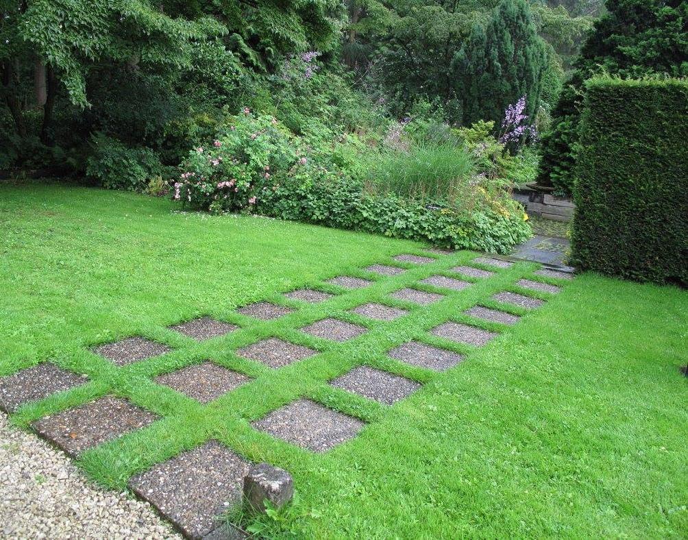 Идеальный газон — последняя тенденция ландшафтного дизайна