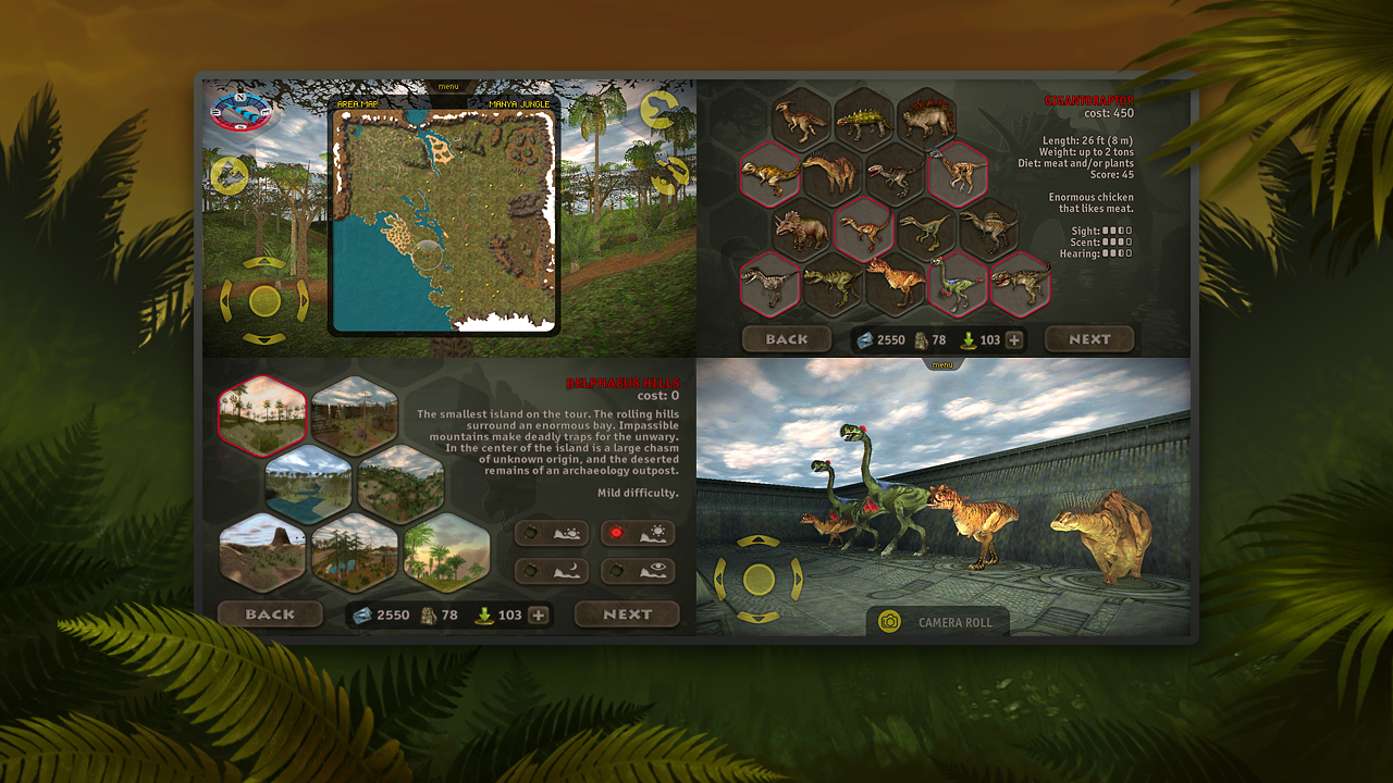 Carnivores: Dinosaur Hunter HD- screenshot
