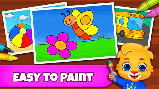 Coloring Games: Coloring Book, Painting, Glow Draw apkbreak screenshots 1