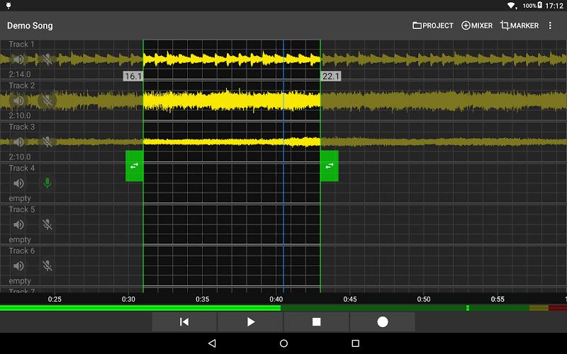 Aubade Audio Studio Screenshot 5