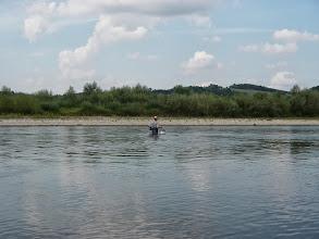 Photo: Facio na moich oczach przebył na drugą stronę Dunajca