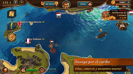 Ships of Battle Age of Pirates Screenshot