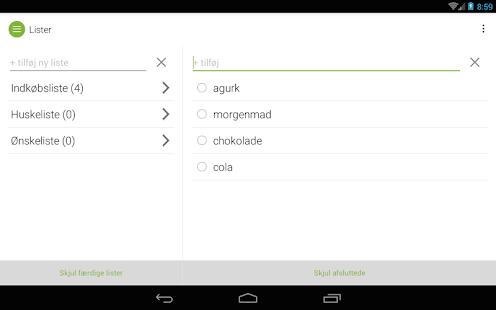 minetilbud- screenshot thumbnail